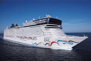 Norwegian Epic Exterior